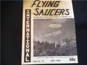 Flying Saucers International Journal