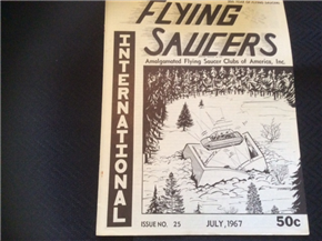 Flying Saucers International 7-67