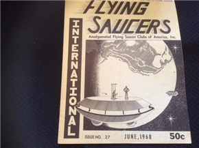 UFO International June 1968 Issue 27