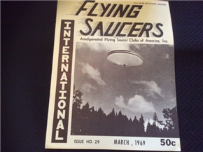 Flying Saucers International      March 1969 Issue NO. 29